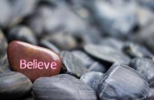"""BELIEVE GOD"""