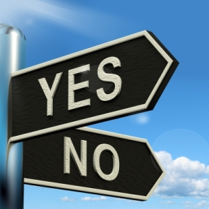 "SHOUD YOUR ""YES"" BE ""NO"""