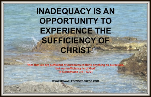 inadequacy poster