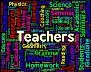 TEACHERS WE APPRECIATE YOU!