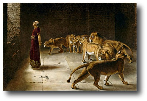 GOD STILL SHUTS LIONS' MOUTHS