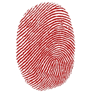 YOU ARE AS UNIQUE AS YOUR FINGERPRINTS